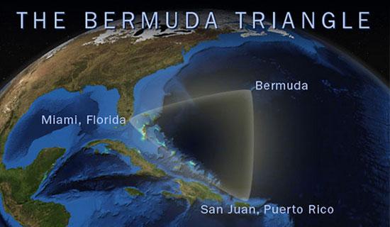ادعای کشف کشتی فرازمینیها در مثلث برمودا