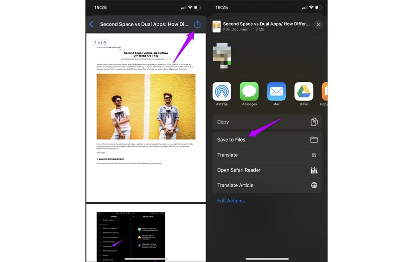 آموزش تبدیل صفحات وب به فرمت PDF در مرورگر کروم اندروید و iOS