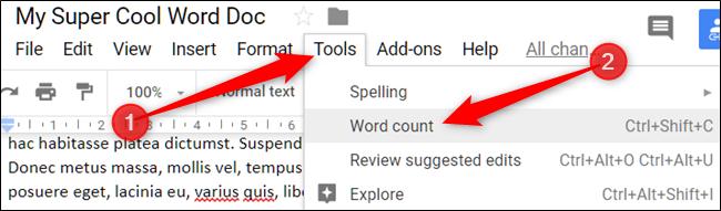 چگونه به صورت آنلاین اطلاعات آماری متن تایپ شده و تعداد کلمات آن را مشاهده کنیم؟