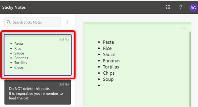 چگونه استیکینوت های ویندوز 10 را در وب و اندروید ببینیم؟