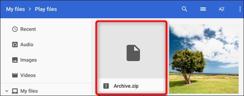 چگونه در کرومبوک فایلها را زیپ کرده یا از زیپ خارج کنیم؟