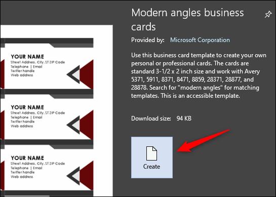 چگونه با استفاده از مایکروسافت ورد کارت ویزیت بسازیم؟
