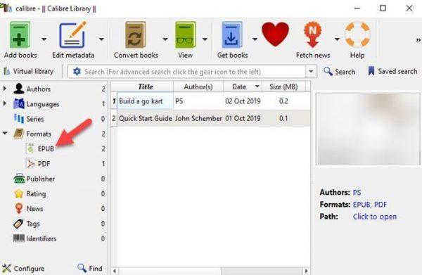 آموزش تبدیل PDF به فرمت های ePub و MOBI
