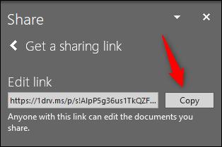 چگونه فایلهای پاورپوینت را با OneDrive بهاشتراک بگذاریم؟