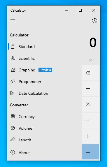 چگونه ماشین حساب نموداری جدید را در ویندوز ۱۰ فعال کنیم؟