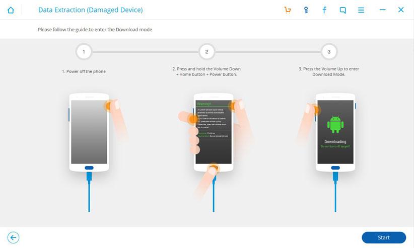 روش بازیابی اطلاعات گوشی اندرویدی آسیبدیده