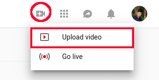 آموزش گذاشتن ویدئو داخل کانال یوتوب