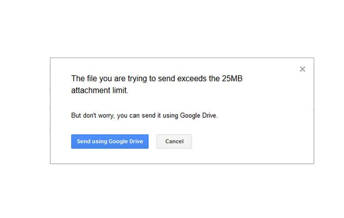 چگونه فایلهای بزرگ را از طریق ایمیل بفرستیم