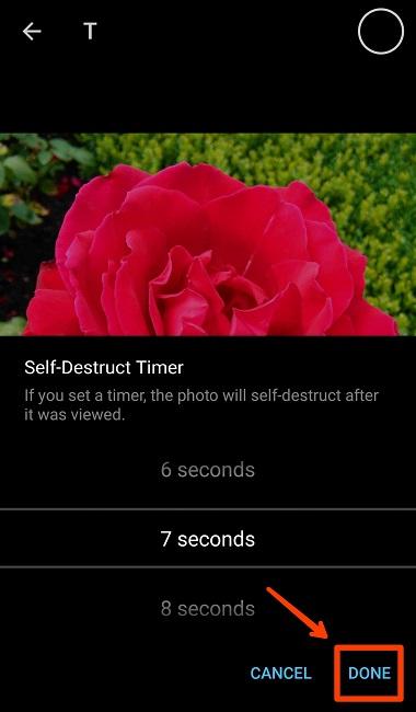 آموزش ارسال عکس زمان دار و محو شونده در تلگرام